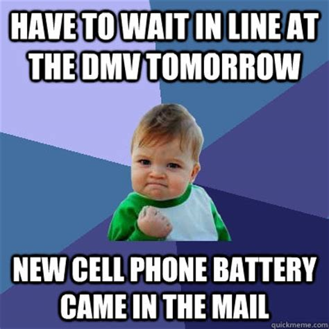 wait     dmv tomorrow  cell phone