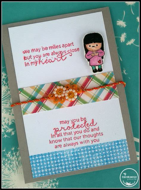 Handmade Greeting Cards For Raksha Bandhan - happymomentzz crafting by sharada dilip rakhi cards at
