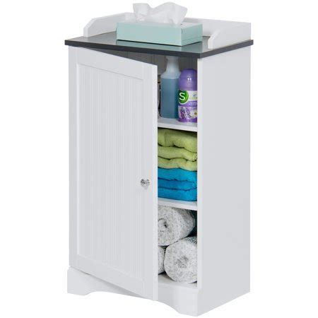 best choice products bathroom floor cabinet storage white