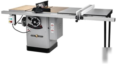 new steel city 10 quot table saw 35640 5 yr warranty