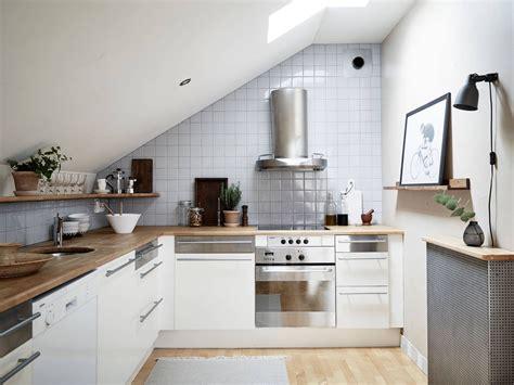 studio apartment kitchen ideas attic studio apartment photography by jonas berg for