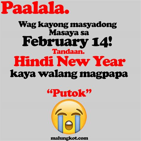 new year feb 14th top 10 best tagalog s day quotes for bitter