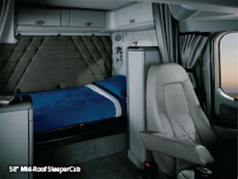 freightliner seats replacement freightliner model lines heavy haulers rv resource guide
