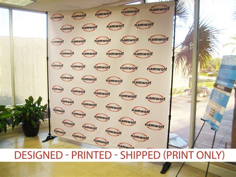 Wedding Banner For Photos by Step And Repeat Backdrop Banner 8x8 Print Only Wedding
