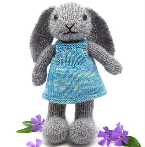 cute knitting pattern cute knit bunny all things yarn pinterest