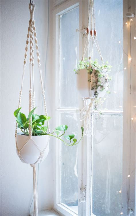 Diy Macrame Plant Holder - macrame wall hangings plant hangers buy or diy