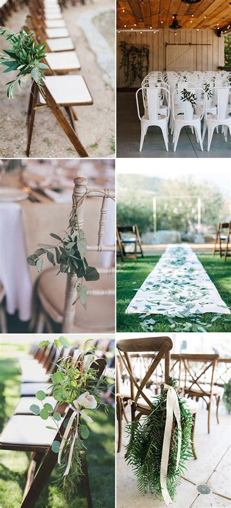 do it yourself wedding aisle decorations simple chic organic minimalist weddings ideas for non