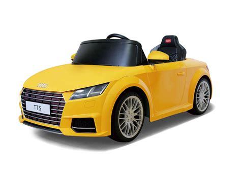 Akku Auto Kind by 12v Audi Tts Roadster Gelb Kinder Elektro Auto