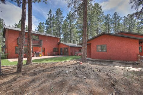 2 5 acre treed flagstaff lot with a 2 car garage workshop northridge flagstaff home on 5 acres 3000 w pack trail