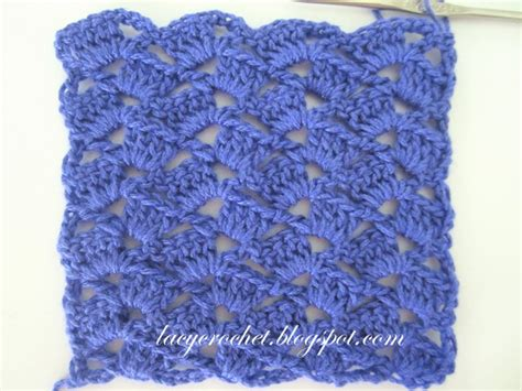 lacy crochet simple and pretty crochet stitch