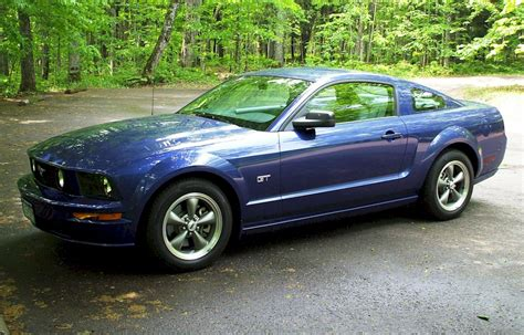 sonic blue  ford mustang gt coupe mustangattitude