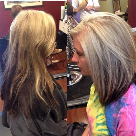 hairstyles with highlights underneath hair blonde with brown underneath highlights short