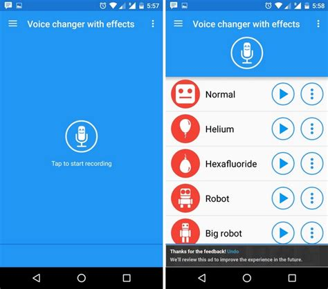 voice app android 12 cool and android apps to kill boredom beebom
