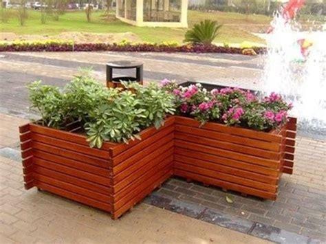 vasi in legno per esterno fioriere per esterno vasi