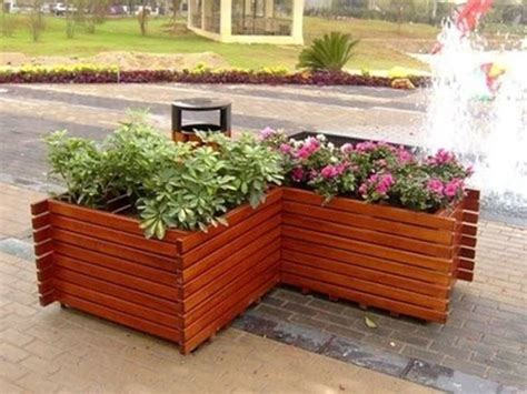 vasi in legno per piante fioriere per esterno vasi