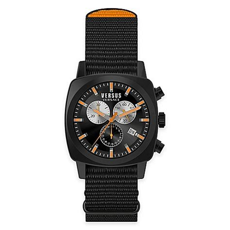 bed bath and beyond riverdale versus by versace men s 40mm chronograph riverdale watch