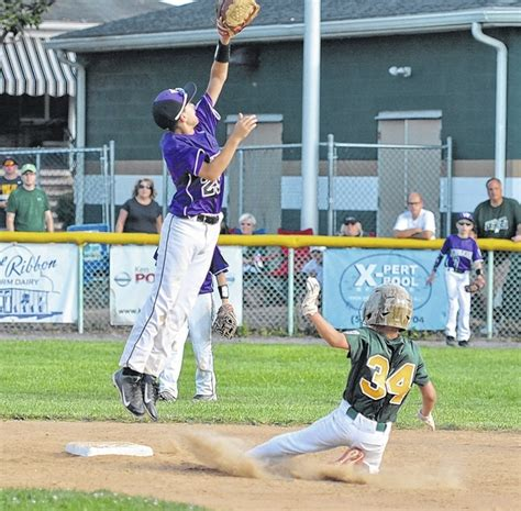section 5 little league times leader west pittston stays alive in section 5