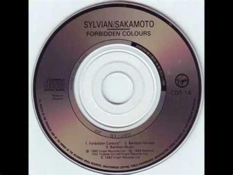 vocal david sylvian ryuichi sakamoto forbidden colours vocal youtube