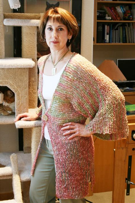 knitting pattern kimono sweater 282 kimono style cardigan knitting pure and simple