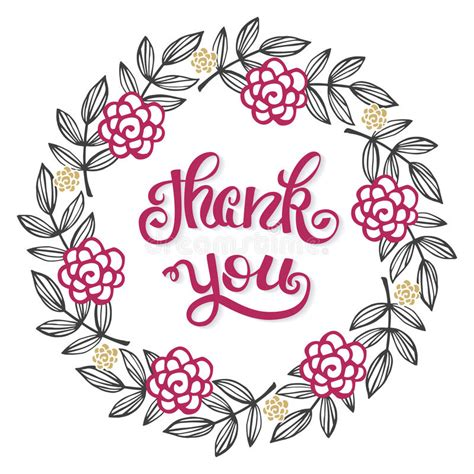thank you card illustrator template thank you lettering sign for a card template
