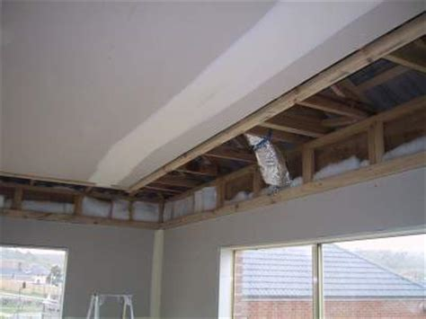 how to build a frameless plasterboard bulkhead