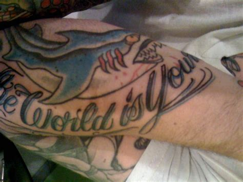 picture machine tattoo yelp megan w quot the world is yours quot yelp