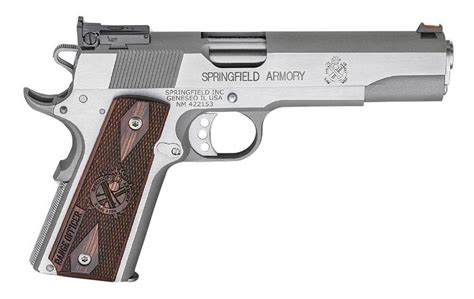 Springfield 1911 Range Officer Review by Springfield 1911 Range Officer 45acp Stainless Steel