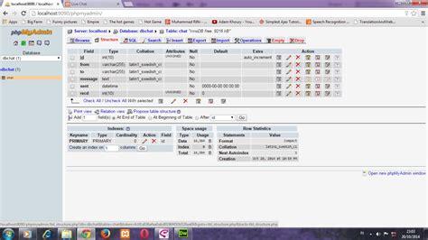 membuat web chat dengan php trick membuat chat ala facebook dengan php mysql