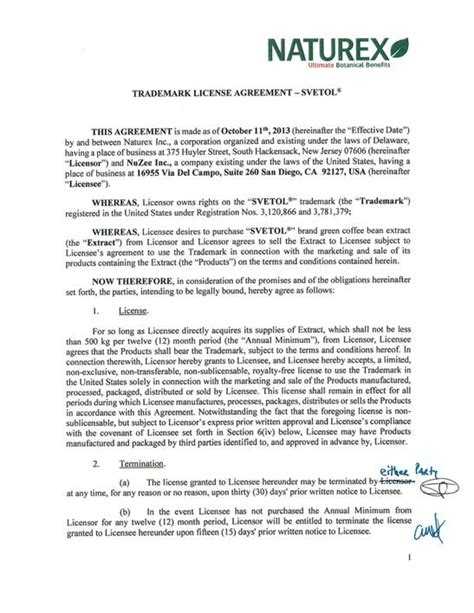 Trademark License Agreement Template Ghostclothingco Trademark License Agreement Template