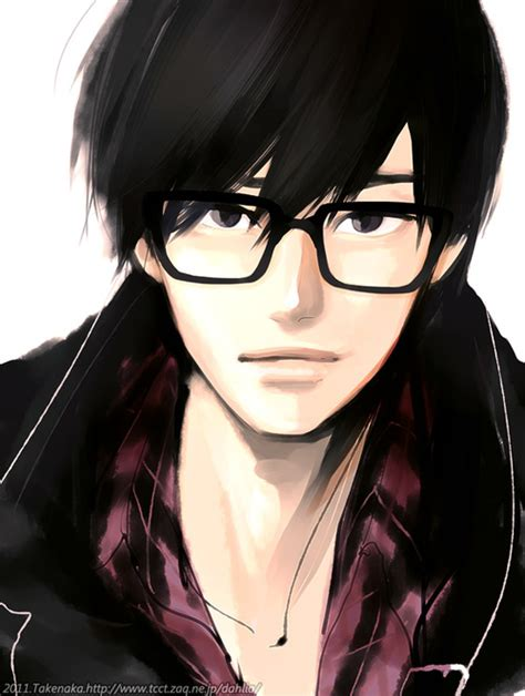 anime glasses anime boy glasses uploaded by no pain no game
