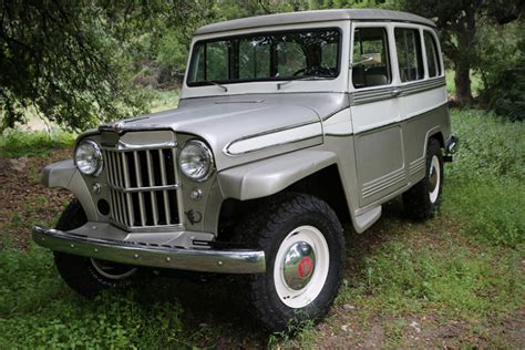 willys overland 1960 willys overland wagon restromod by icon video