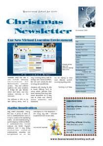hoa newsletter templates 5 best images of newsletter design ideas business