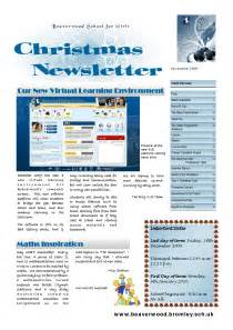 Business Christmas Newsletter Ideas