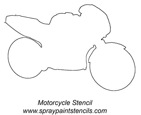 motorcycle stencils templates stencil requests for january 2007 page 2