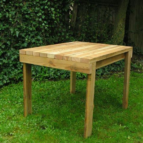 2x4 table outdoor ideas garden
