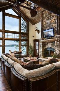 Rustic Livingroom 55 Airy And Cozy Rustic Living Room Designs Digsdigs