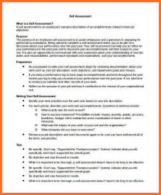 Sle Self Assessment Essay by Self Assessment Exles Soap Format