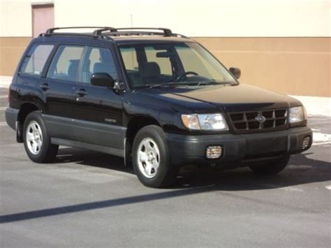buy car manuals 1998 subaru forester electronic throttle control sell used 1998 subaru forester l awd one owner non smoker clean accident free no reserve in