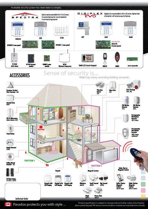paradox alarm system home alarm security alarm system