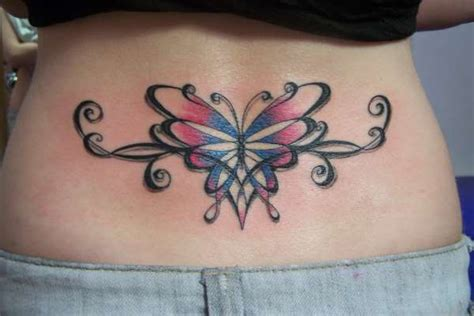 tribal feminine tattoos girly lower back tribal tattoos artist ideas