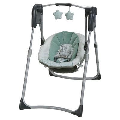 sale on baby swings graco 174 slim spaces compact baby swing target