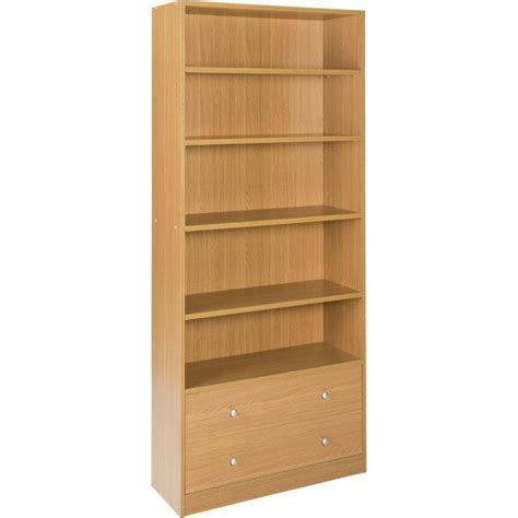 extra deep bookcase white buy home maine 2 drawer extra deep bookcase oak effect
