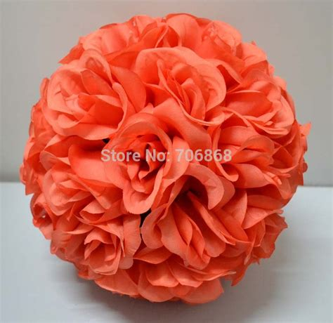 coral silk color buy wholesale coral color wedding decorations from