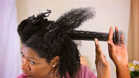 nicely trimmed dark pubic hair length check ends trimmed type 4 natural hair youtube