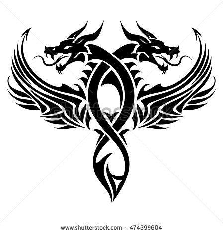 tattoo hidden dragon zadar the 25 best tribal dragon tattoos ideas on pinterest