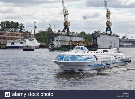 hydrofoil boat russia russian boat stock photos russian boat stock images alamy