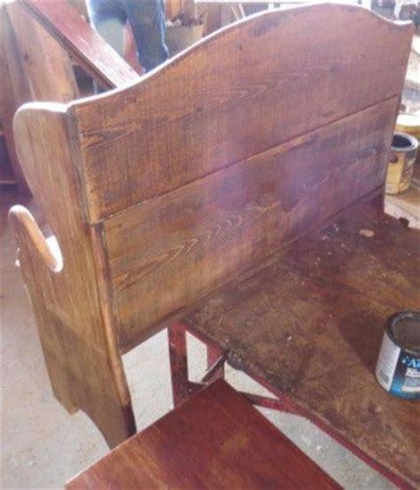 reclaimed wood vs new wood deacon bench pennsylvania dutch antique reclaimed barn