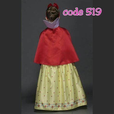 Baju Ultah Anak Jual Kostum Snow White Baju Putri Salju Anak Ultah 519