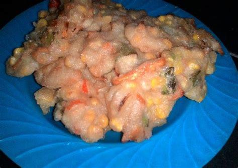 resep bakwan jagung oleh yuli arifayani cookpad