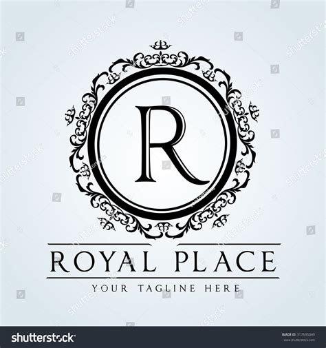 crest logo template luxury vintage crests logocrest business sign stock vector
